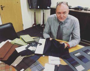 Robert McQuillan, Global Sales Director of Escorial