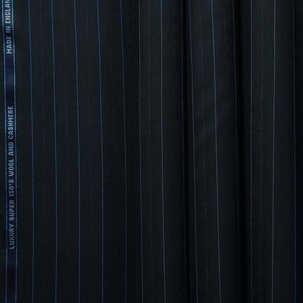 10002 Black Fancy Coloured Stripe