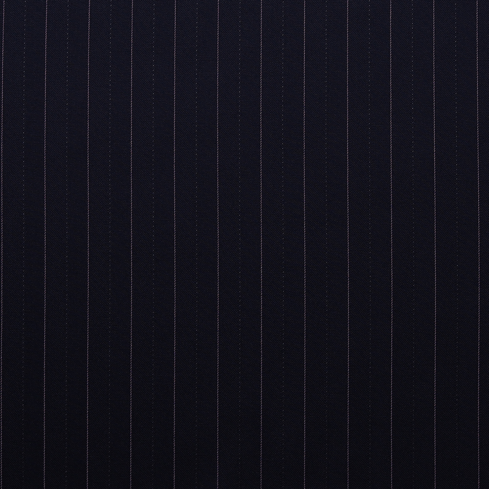 10003 Navy Blue Fancy Coloured Stripe
