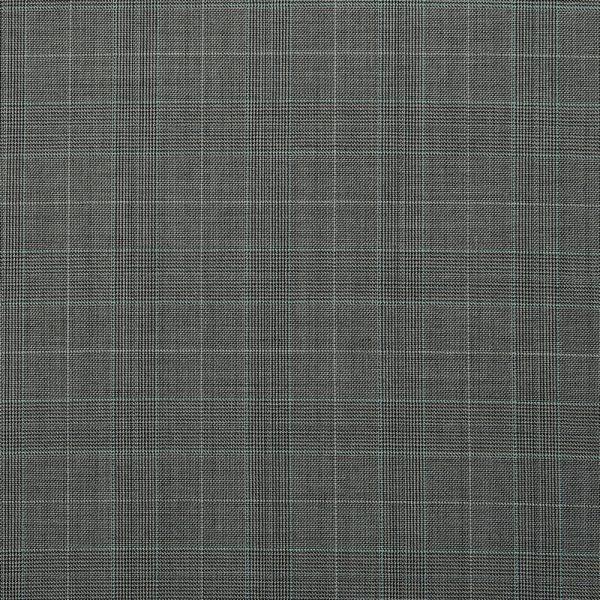 10007 Medium Grey Guarded Glen Check with White Overcheck