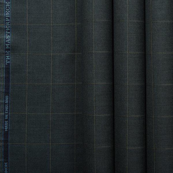 10011 Dark Grey with Tan Windowpane Check
