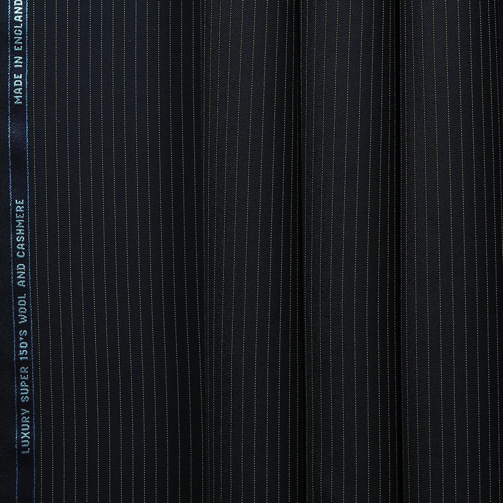 10015 Navy Blue Narrow Coloured Stripe