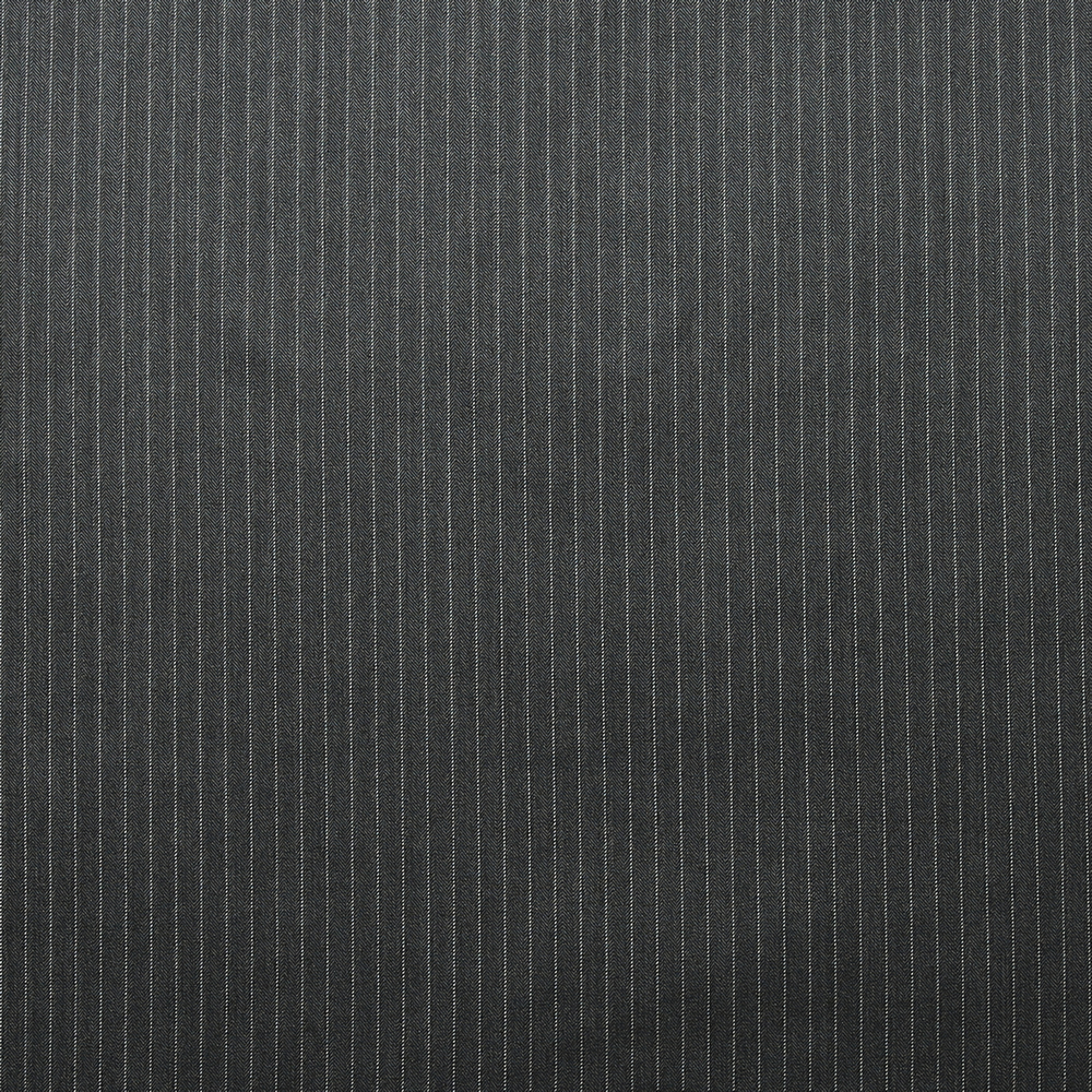 10025 Dark Grey Herringbone Stripe