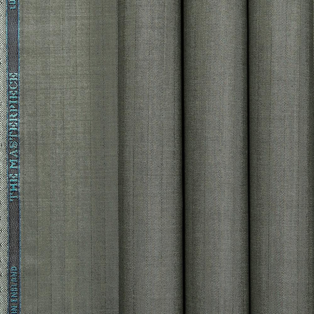 10031 Medium Grey Wide Herringbone
