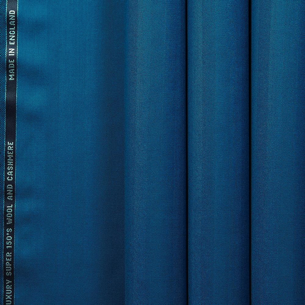 10033 Electric Blue Wide Herringbone