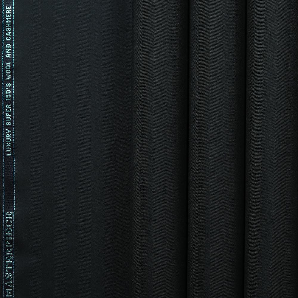 10034 Navy Blue Wide Herringbone