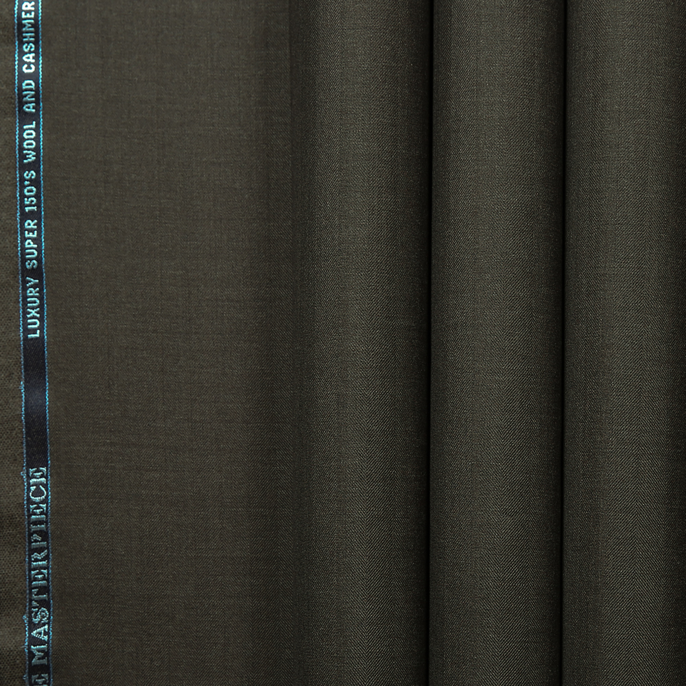 10035 Brown Wide Herringbone