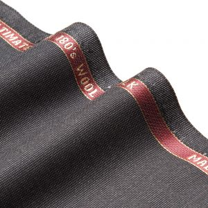 1005 Black Wool Silk Hairline