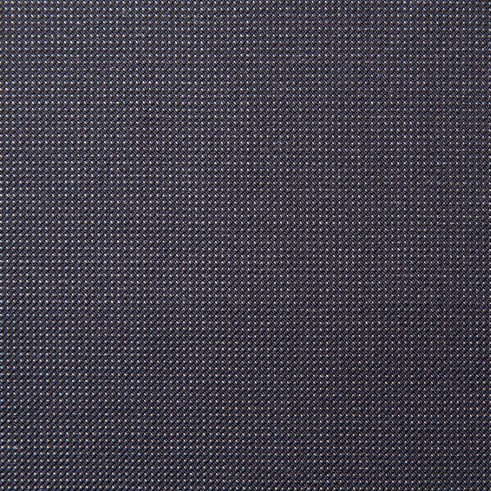 1006 Navy Blue Wool Silk Hairline