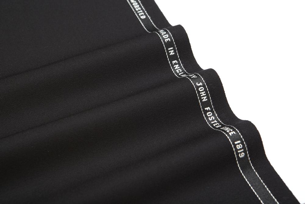 1010 Black Plain Tuxedo Barathea