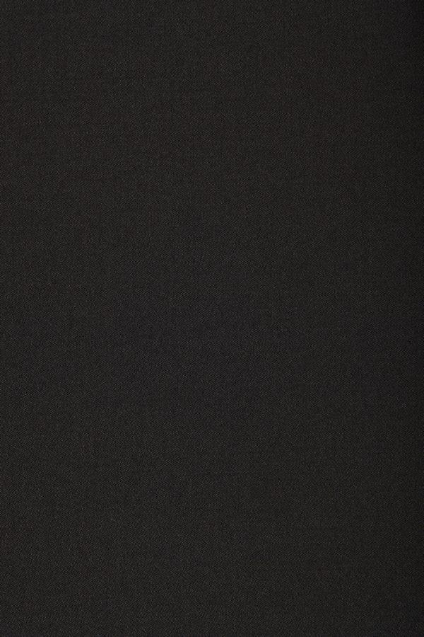 1015 Black Plain Satin