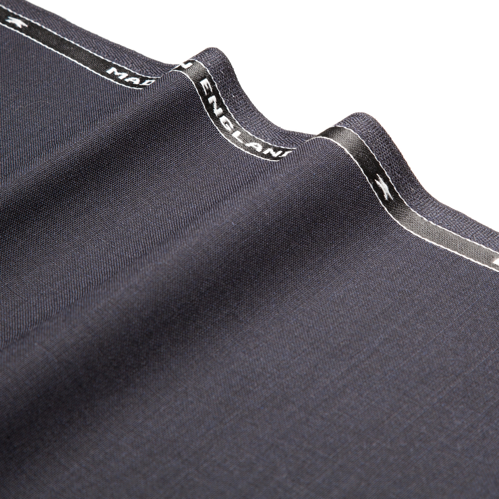 1034 Navy Blue Plain High Twist