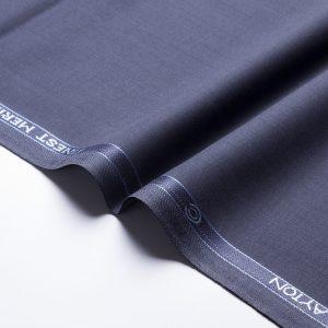 1036 Navy Blue Plain Weave