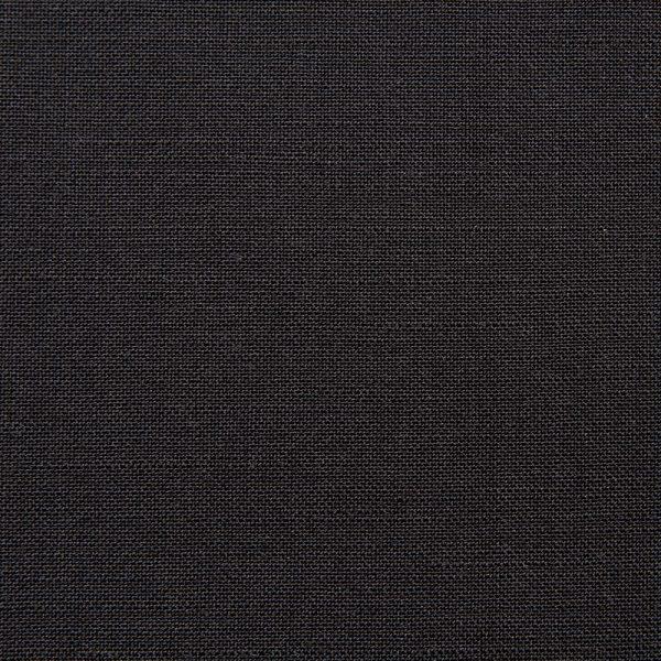 1039 Black Plain Mohair/Wool