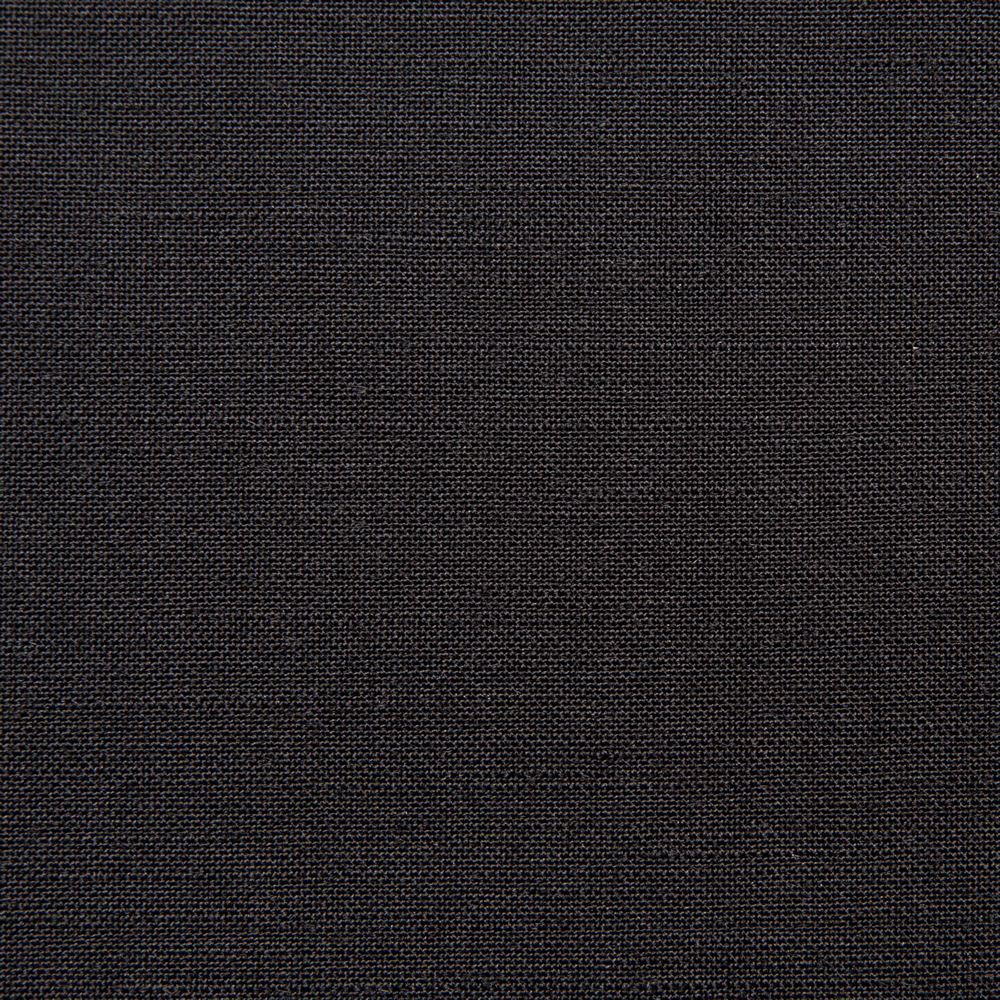 1039 Black Plain Mohair/Wool