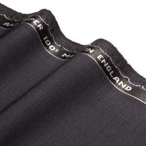 1040 Navy Blue Plain Mohair/Wool