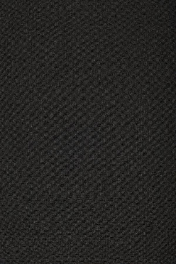 1041 Black Plain Mohair/Wool