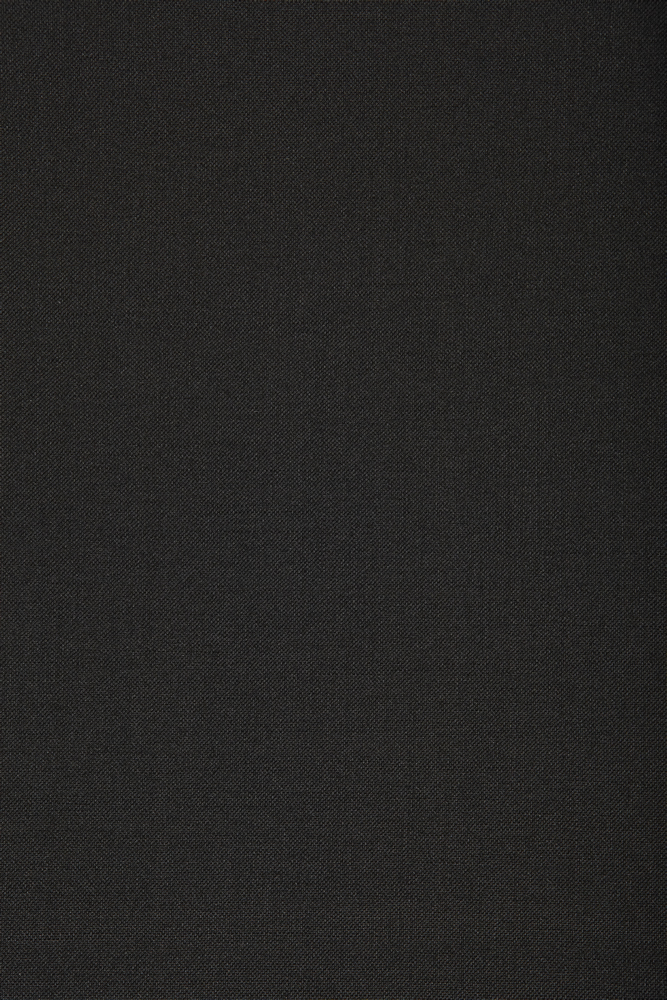 1041 Black Plain Mohair/Wool