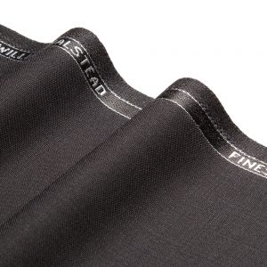 1045 Black Plain Wool/Mohair 3 Ply
