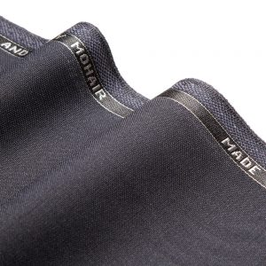 1046 Navy Blue Plain Wool/Mohair 3 Ply