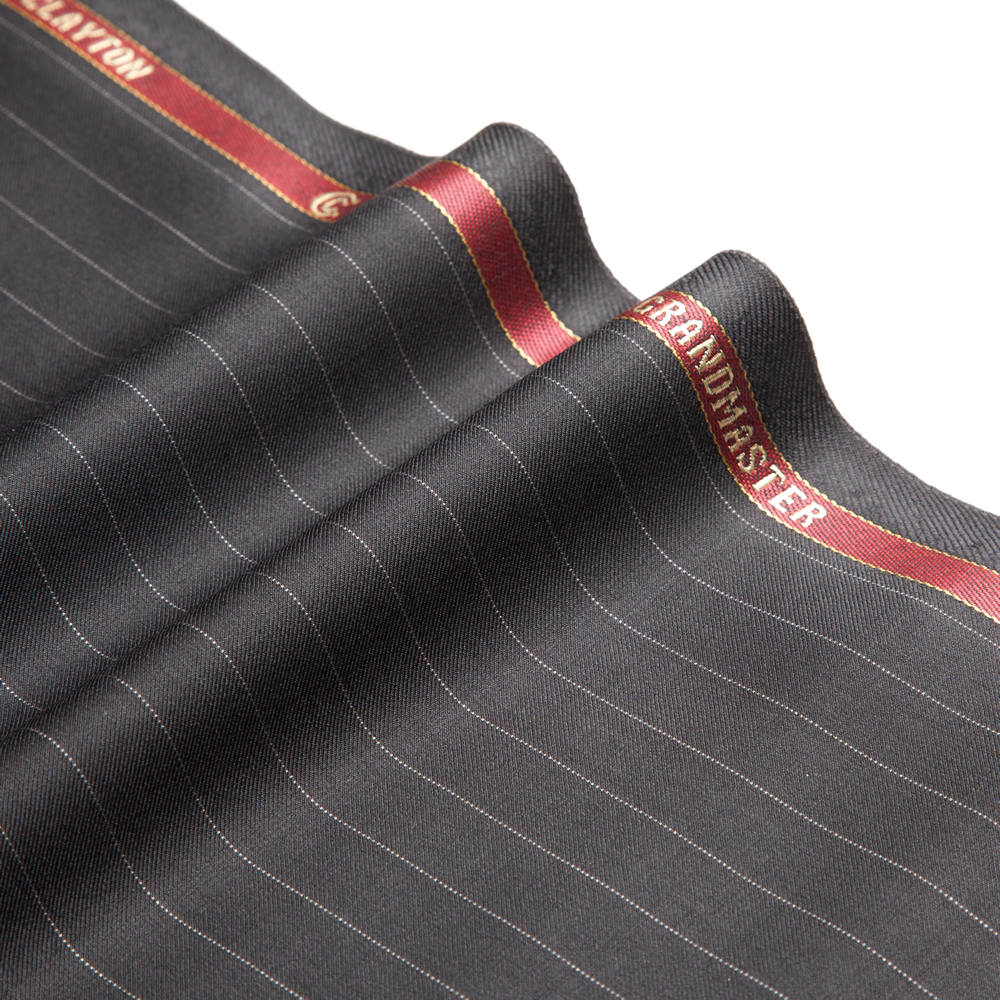 11011 Black Medium Pin Stripe