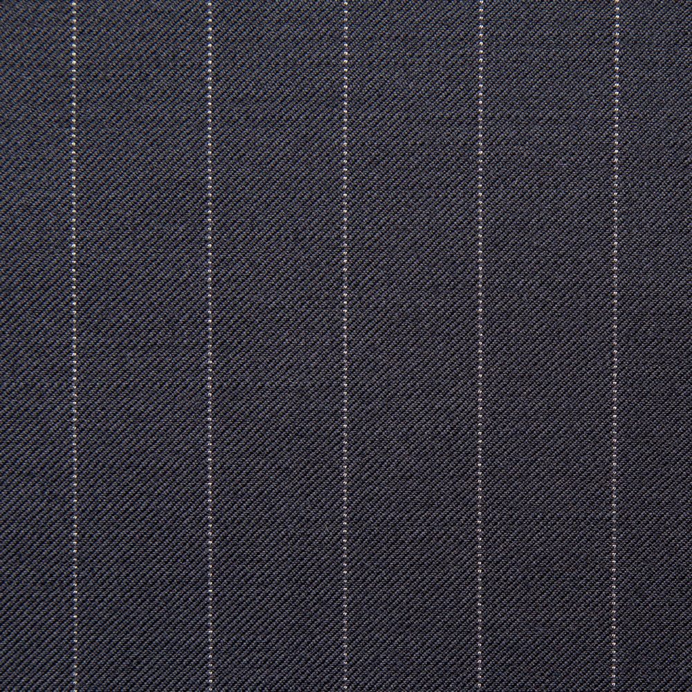 11012 Navy Blue Pin Stripe