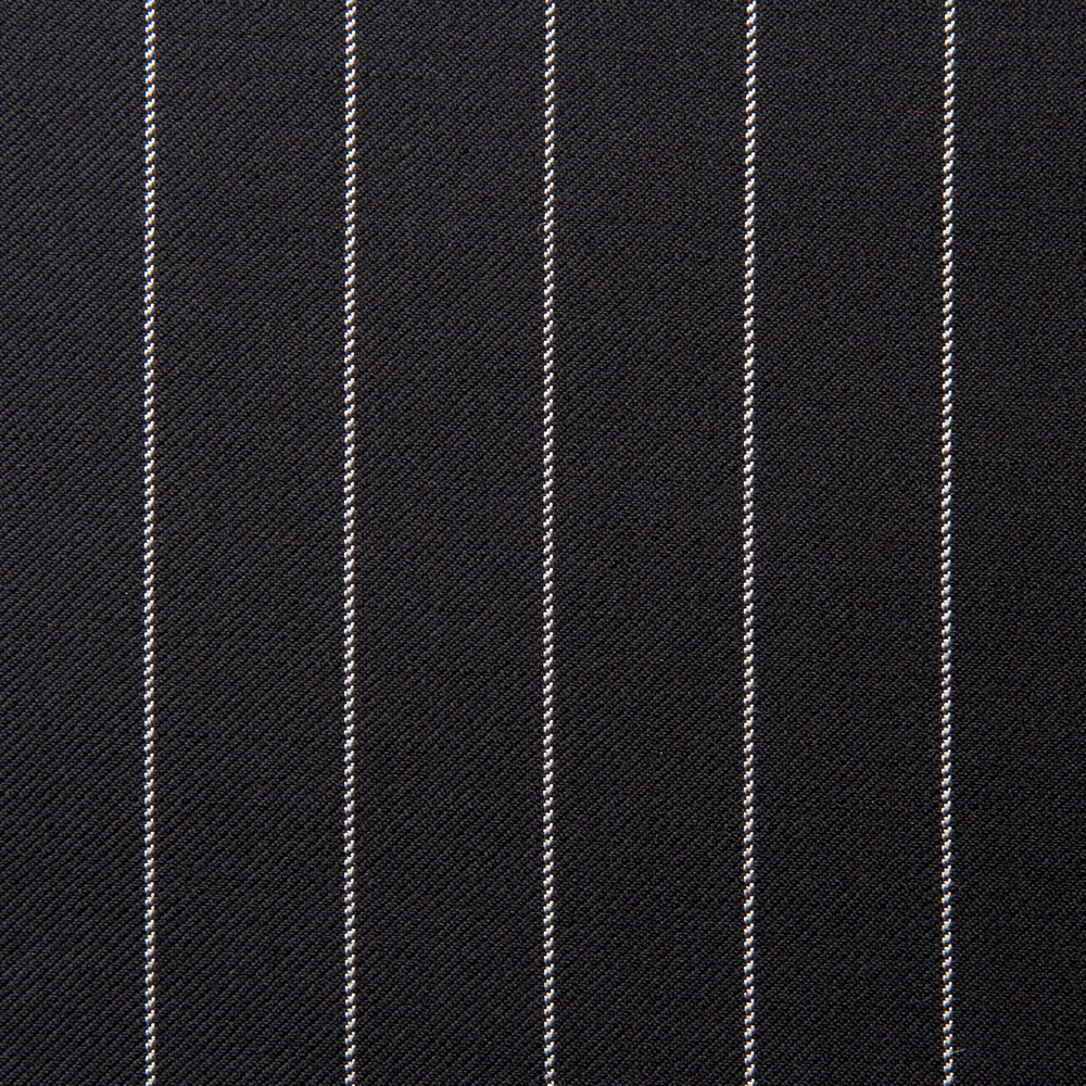 11014 Black Medium Chalk Stripe