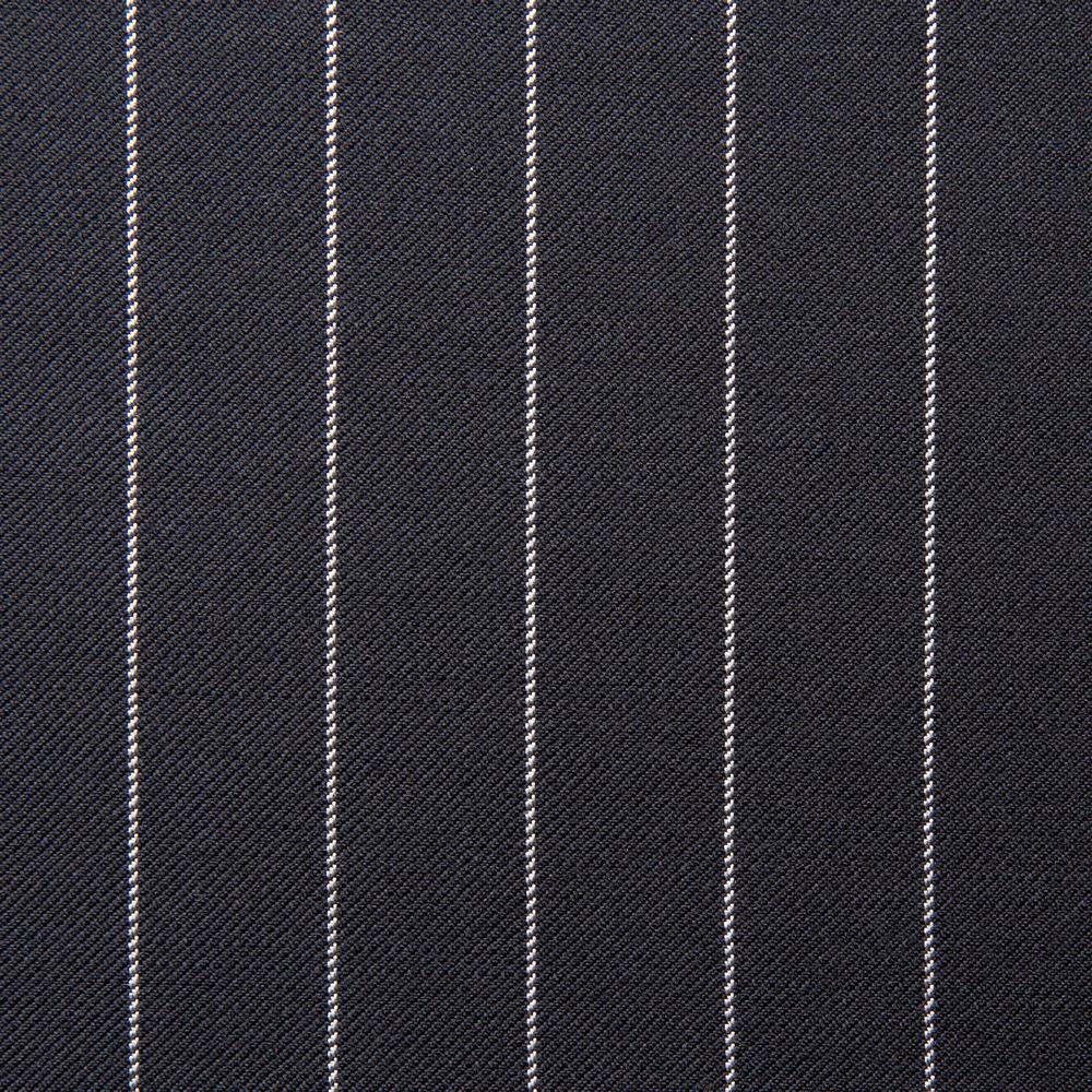 11015 Navy Blue Medium Chalk Stripe