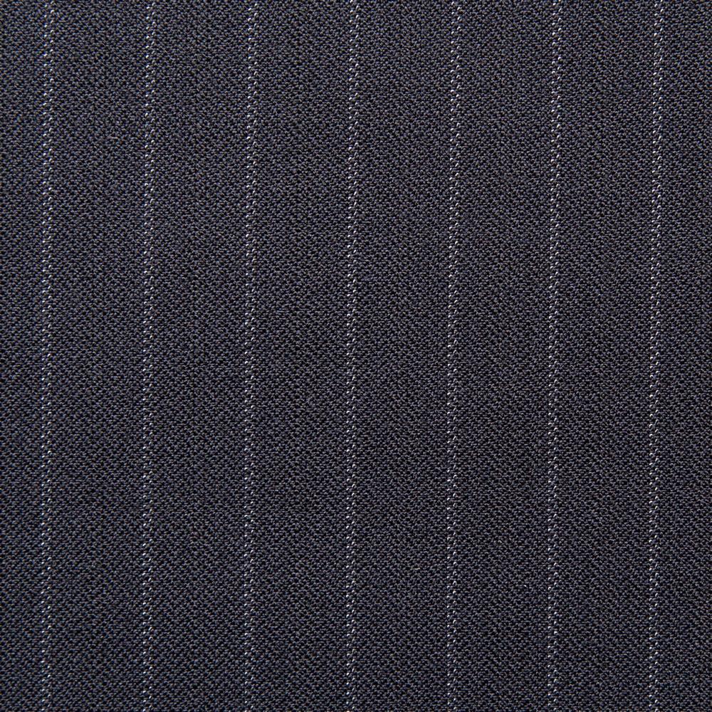 11018 Navy Blue Fancy Stripe