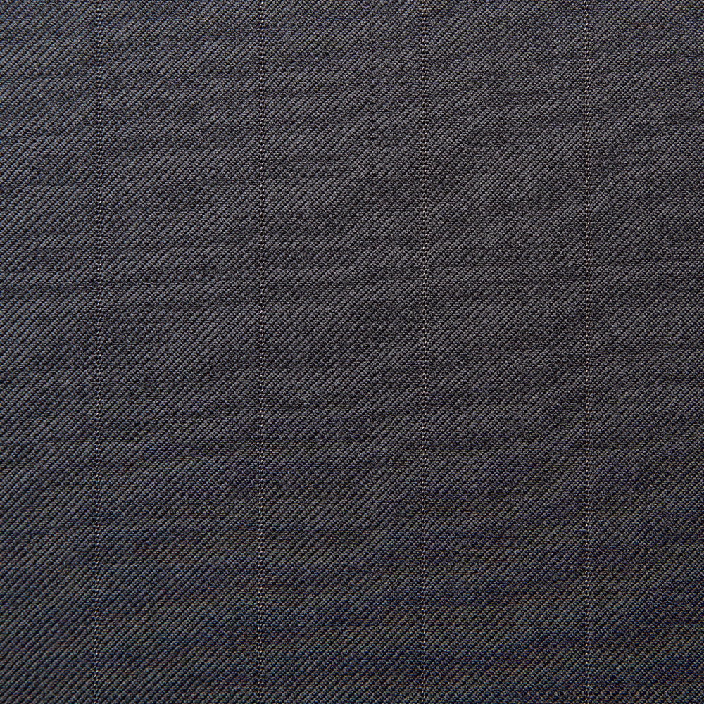 11025 Black Medium Self Stripe