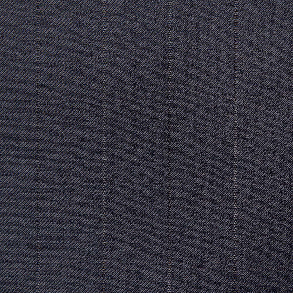 11026 Navy Blue Medium Self Stripe