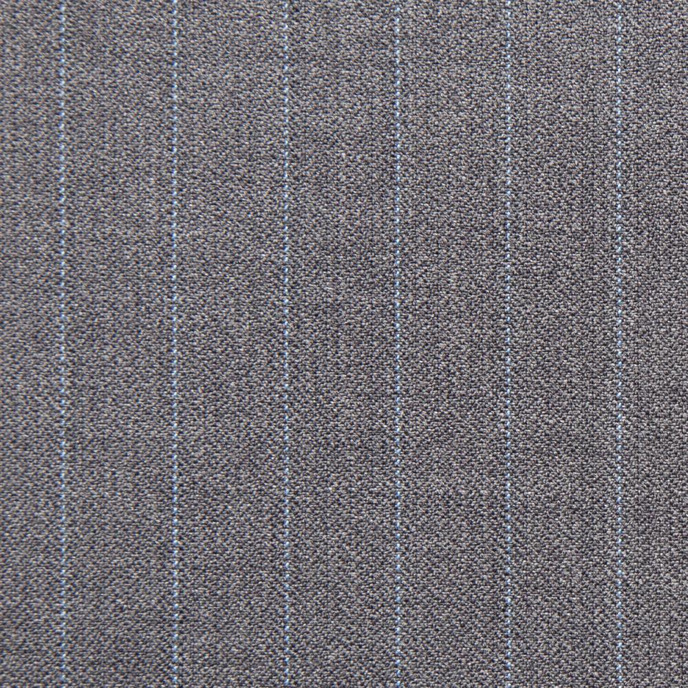 11029 Medium Grey Coloured Pin Stripe