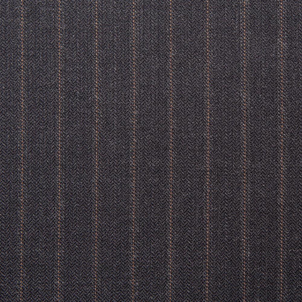 11030 Charcoal Grey Coloured Pin Stripe