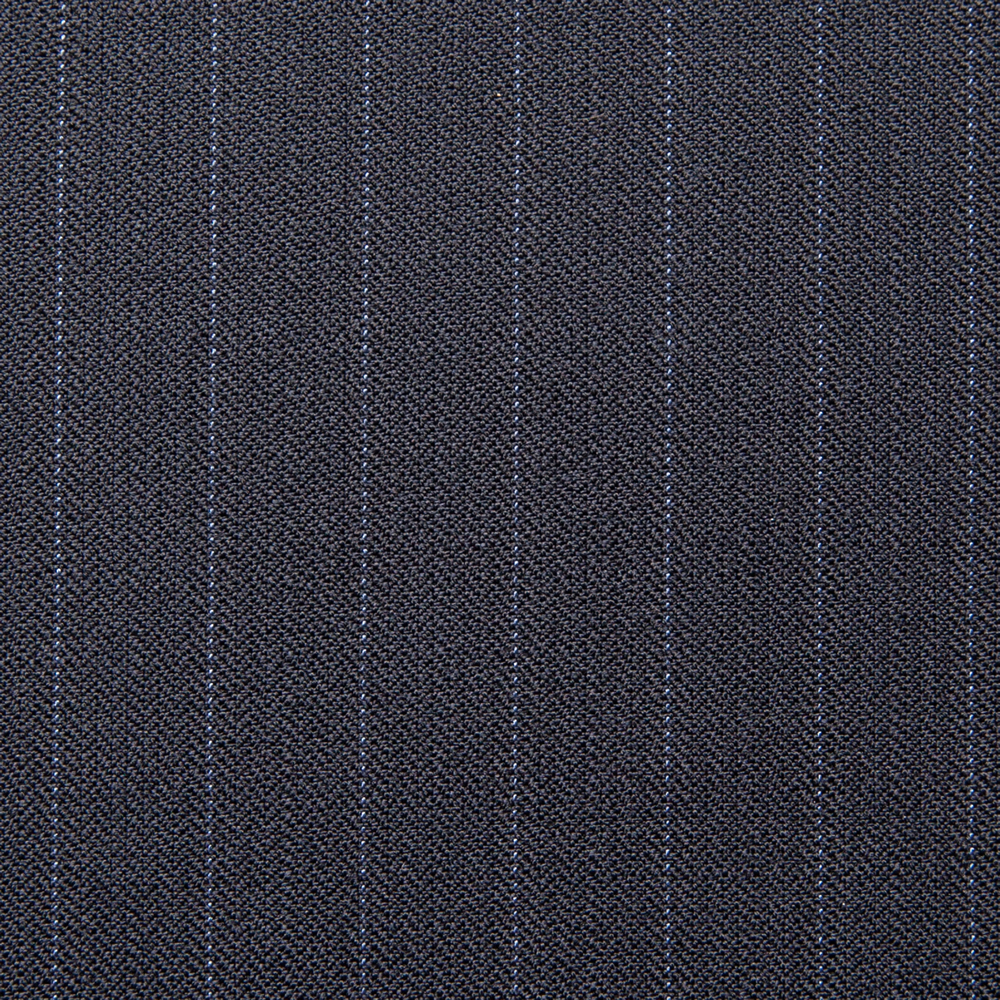 11031 Navy Blue Coloured Pin Stripe