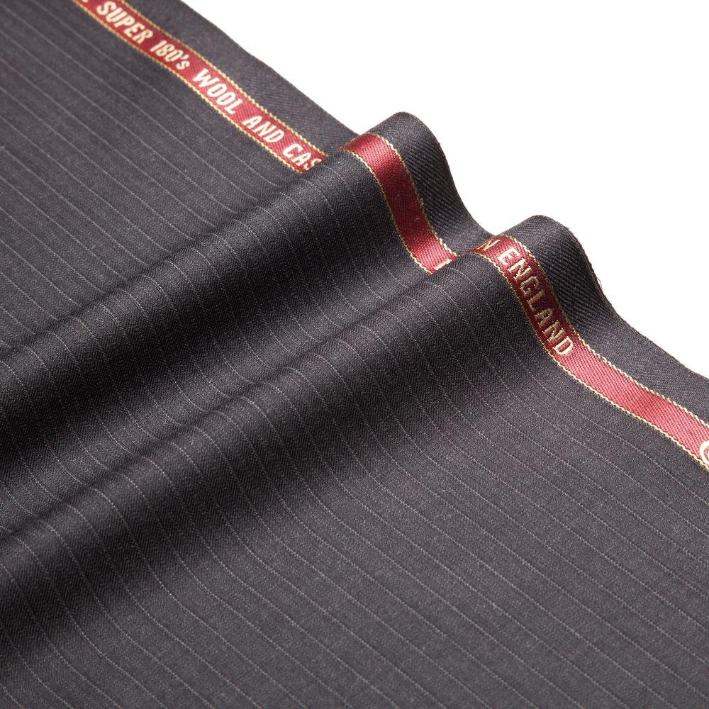 11032 Charcoal Grey Fancy Stripe