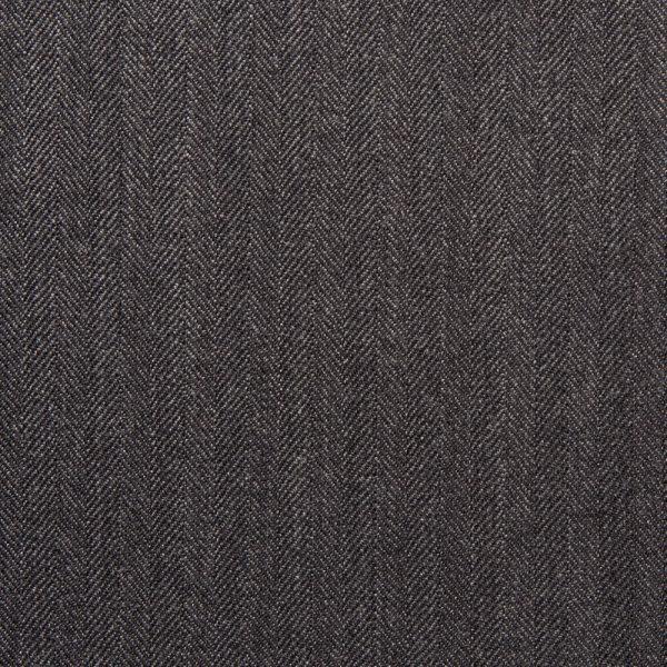 12002 Charcoal Grey Narrow Herringbone