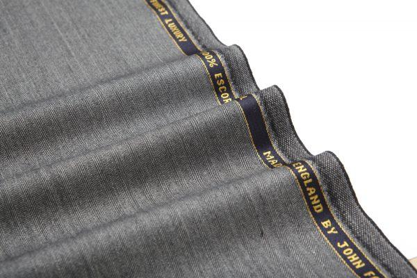 12003 Medium Grey Narrow Herringbone