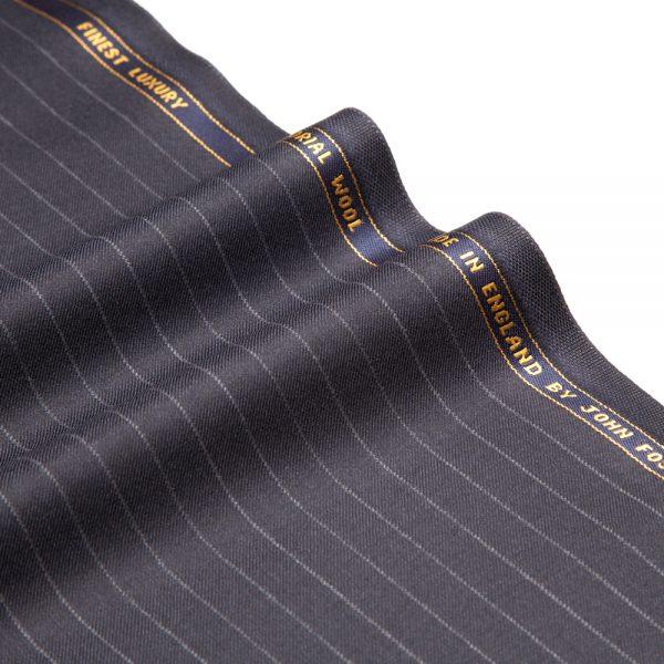 12017 Dark Navy Blue Chalk Stripe