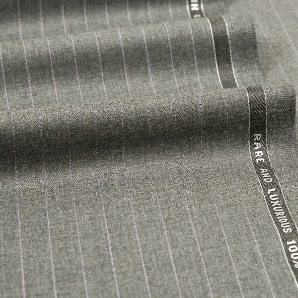 12027 Grey Coloured Pin Stripe