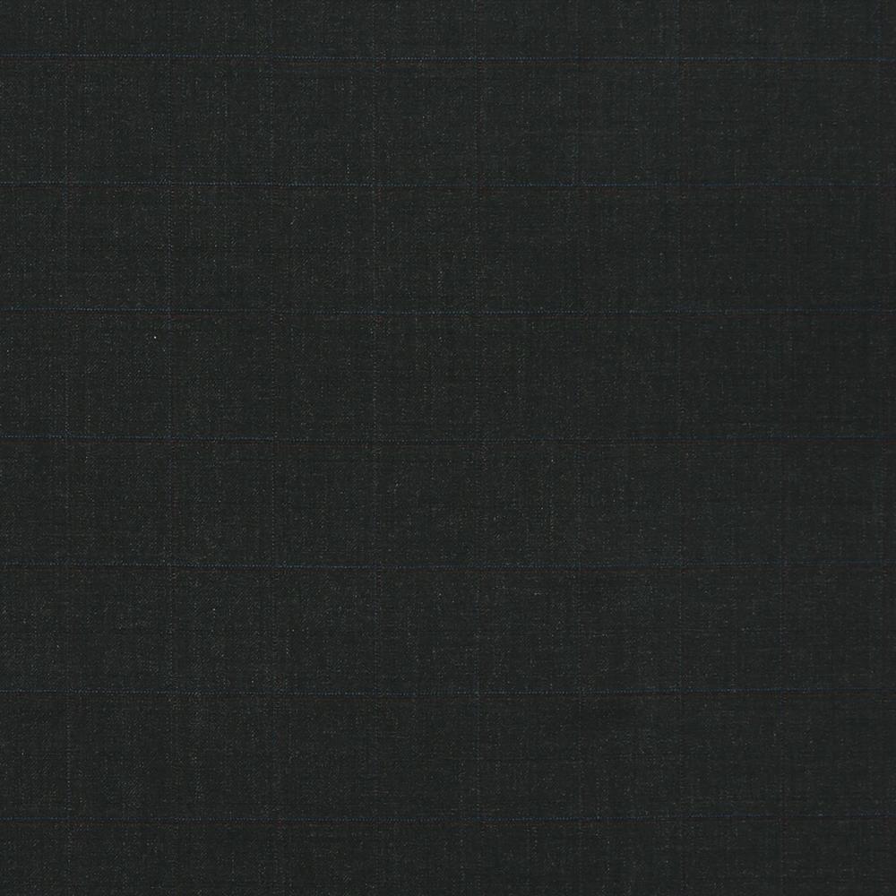 12038 Charcoal Grey Coloured Windowpane Check