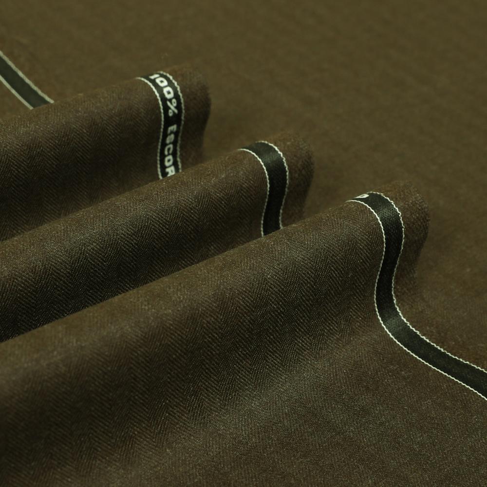 12056 Brown Herringbone
