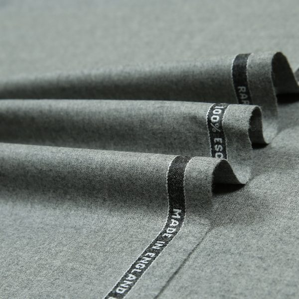 14000 Light Grey Plain Flannel