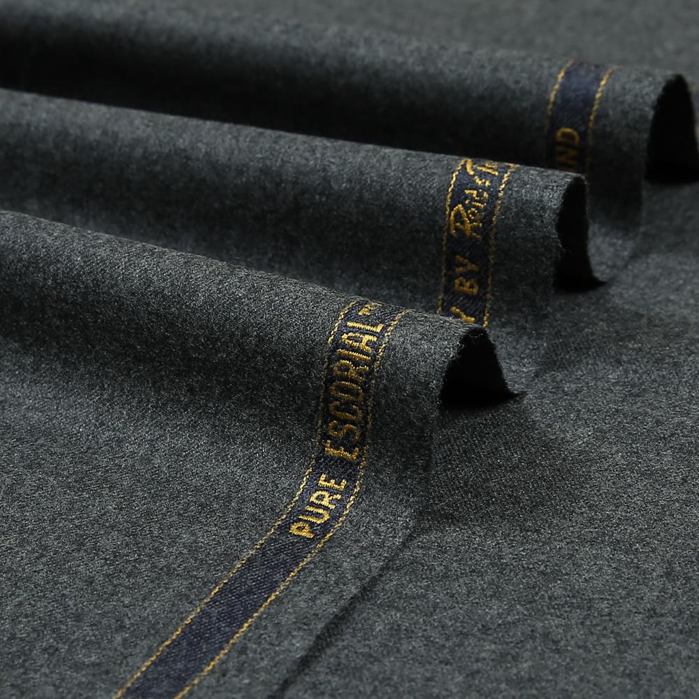 14001 Medium Grey Plain Flannel
