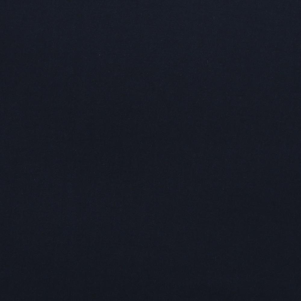 14004 Navy Blue Plain Flannel