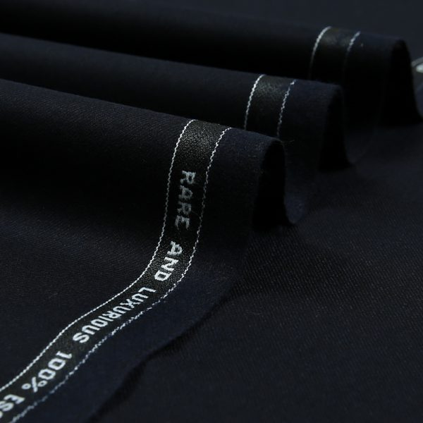 14005 Dark Navy Blue Plain Flannel