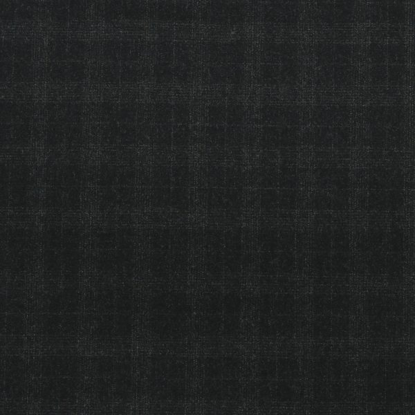 14022 Charcoal Grey Tattersall Check Flannel