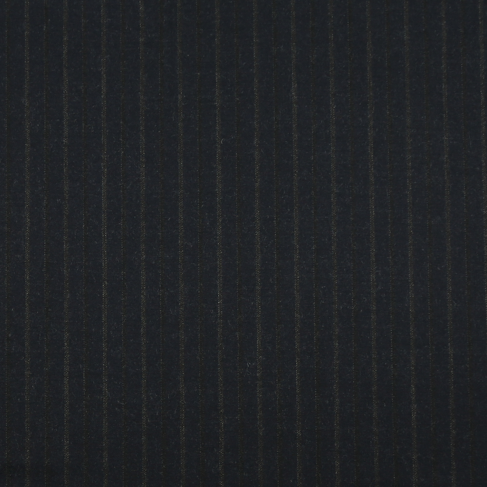 14050 Navy Blue Fancy Stripe Flannel