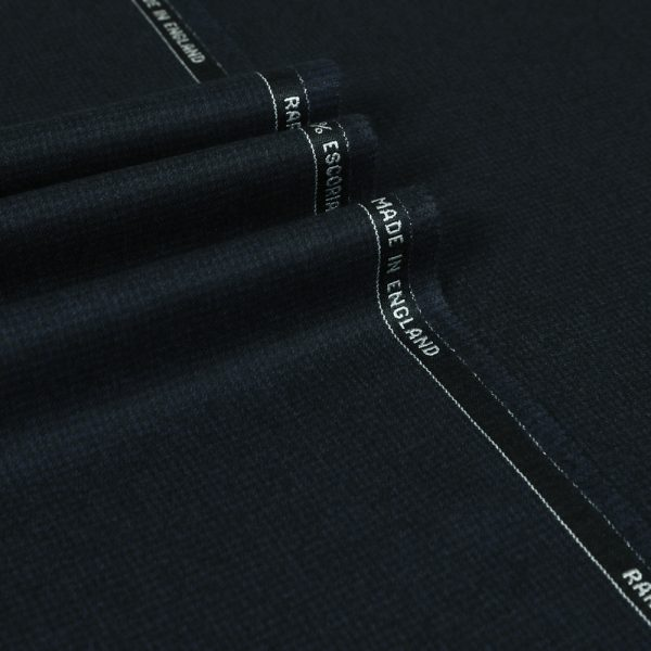 14063 Navy Blue Puppytooth
