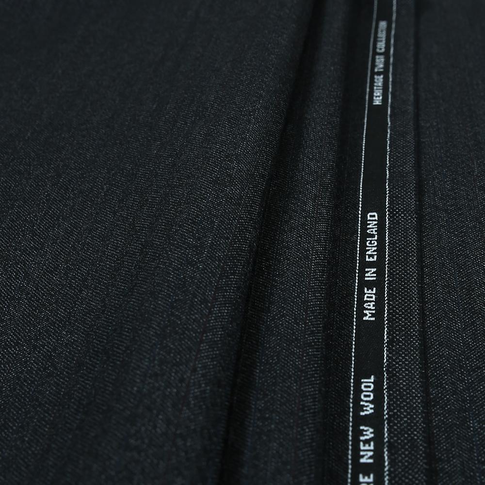 15005 Charcoal Grey Herringbone with Coloured Stripe