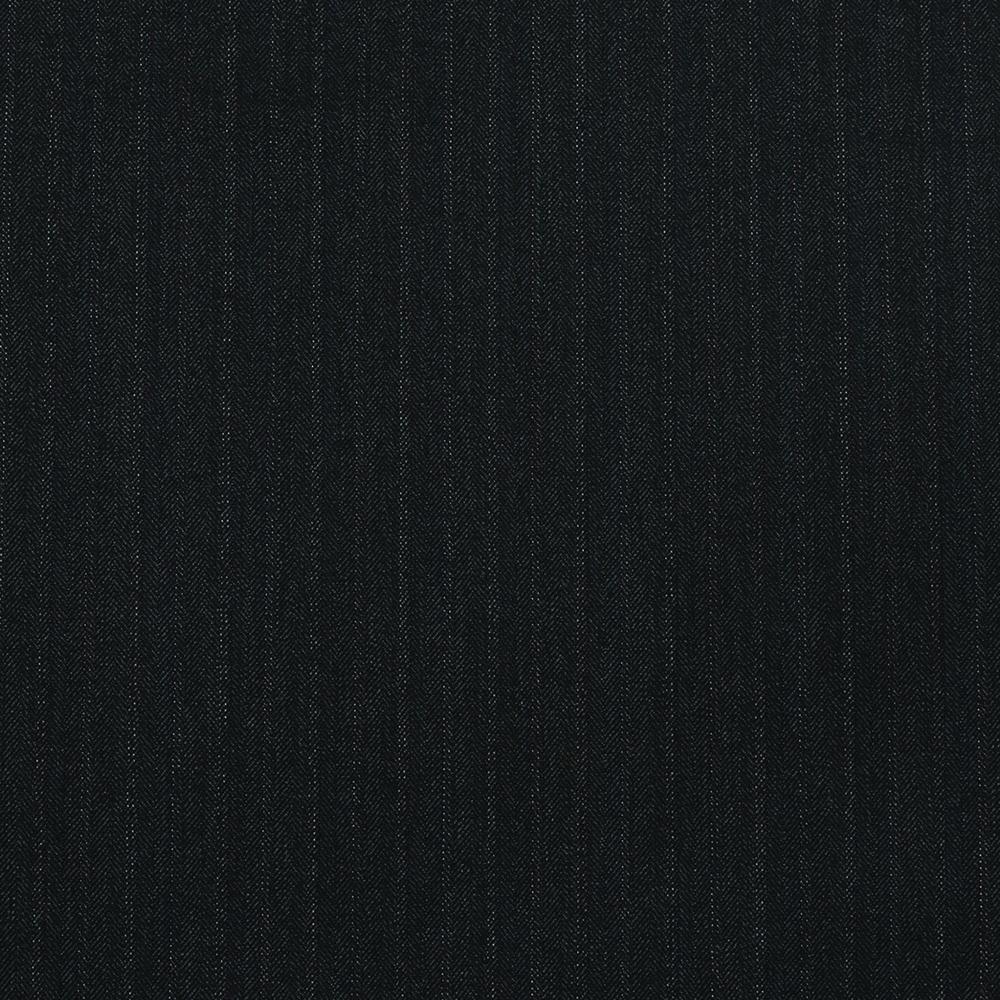15009 Charcoal Grey Herringbone with Fancy Coloured Stripe